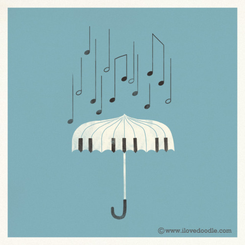 magicfran:  Singing in the rain by ILoveDoodle on Flickr.