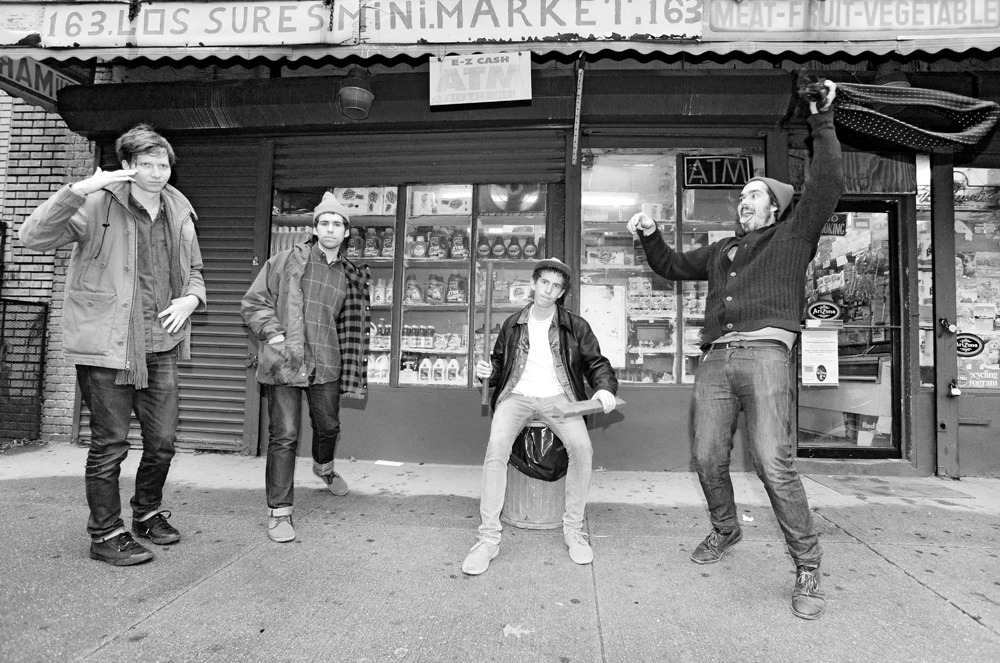 Parquet Courts // Brooklyn, February 2013. Out Take - This shot was