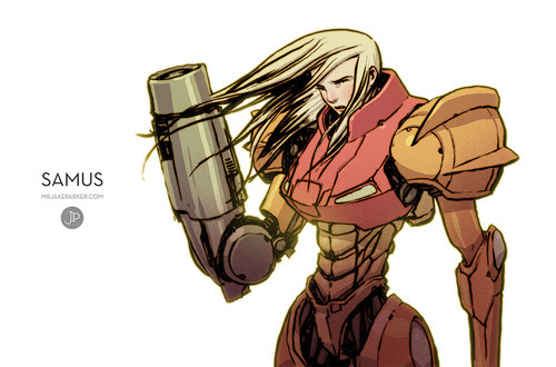 Samus by Jake Parker
