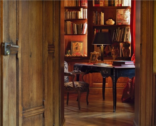 awonderfulpalmettolife:  furniture-meubles:  Atelier de Brou from France. Heavenly Home Office.  (via TumbleOn )