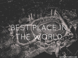 cococoda:  nisanadiah:  One day,in shaa allah <3  Again. One day, with loved one. InsyaAllah :')