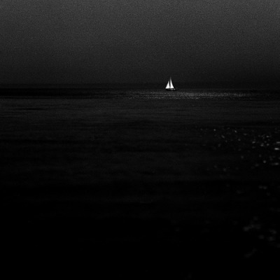 vurtual:   Sailboat in Moonlight (by Adam Garelick)Stratford, Connecticut