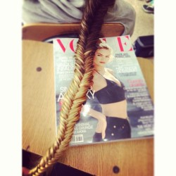 #blonde #braid @instabraid #vogue #voguemagazine #myhair #blondehair 💁💛