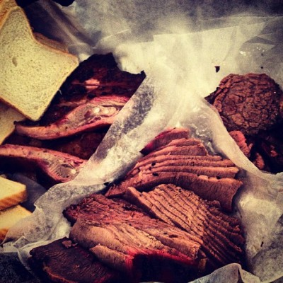 #Pro #MeatDoping @RudysBBQ w/our friend Ms. Nancy from Denver - #TX #BBQ #ATX #MeatSweats