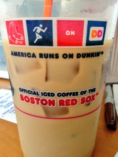 I live on iced coffee.