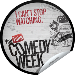 I just unlocked the I Can't Stop Watching sticker on GetGlue                      6451 others have also unlocked the I Can't Stop Watching sticker on GetGlue.com                  This was the most culturally significant event in history ever this week. Thank you for tuning in! Visit YouTube.com/ComedyWeek to catch up on the best comedy videos. Share this one proudly. It's from our friends at YouTube.