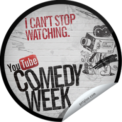 I just unlocked the I Can't Stop Watching sticker on GetGlue                      6453 others have also unlocked the I Can't Stop Watching sticker on GetGlue.com                  This was the most culturally significant event in history ever this week. Thank you for tuning in! Visit YouTube.com/ComedyWeek to catch up on the best comedy videos. Share this one proudly. It's from our friends at YouTube.