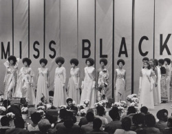 aydeenattylife:  Miss Black America Pageant 1972. Almost all had Afros. Fabulous!  Lovely.