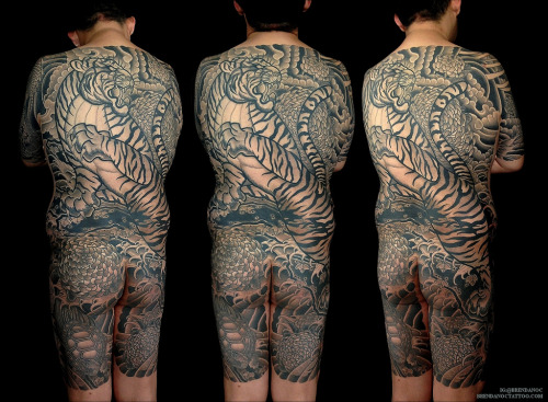 tattoos:  2011-13 for Charlie. Amazing dedication. (by Brendan O'Connor Images)