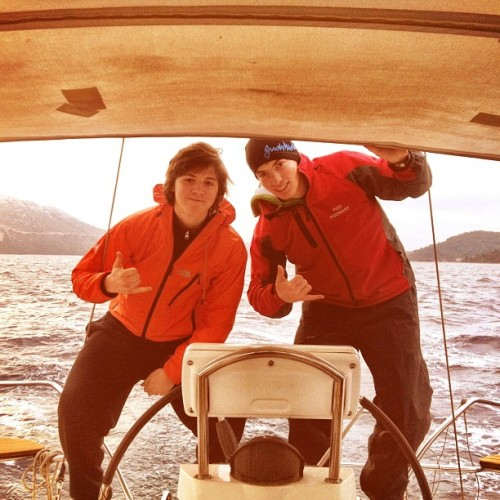 Sailing !! #sailing #wind #sea @nejcsimnic @kikolin555