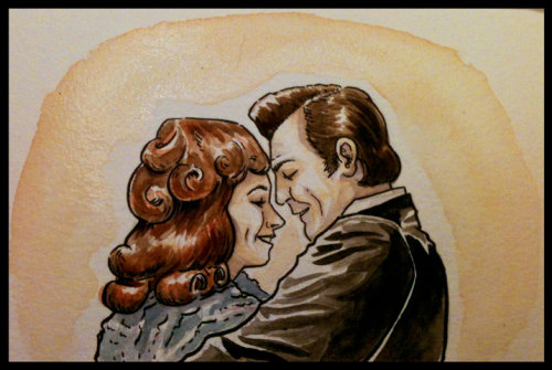 Little TCAF commission of Johnny Cash and June Carter.