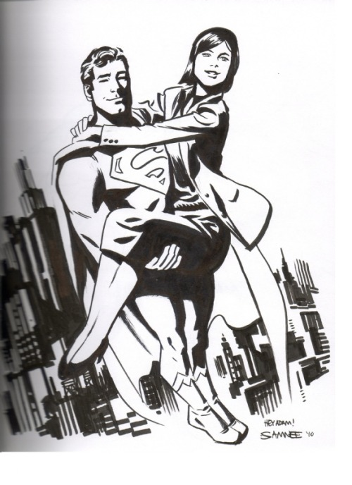 Superman & Lois Lane - Chris Samnee