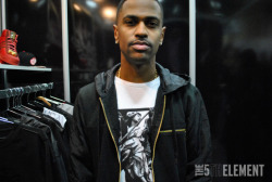 Big Sean at his Finally Famous booth at PROJECT Las Vegas. Click here for more photos.