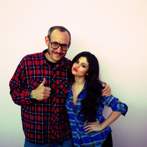 @terryrichardsonstudio: '#terryrichardaon and @selenagomez today!!! After my shoot!!! #LA#selenagomez #C41 #awesome #thebest'