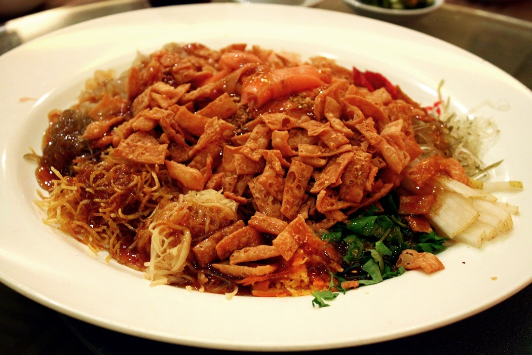 I know this is probably overdue but hey look, YEE SANG!