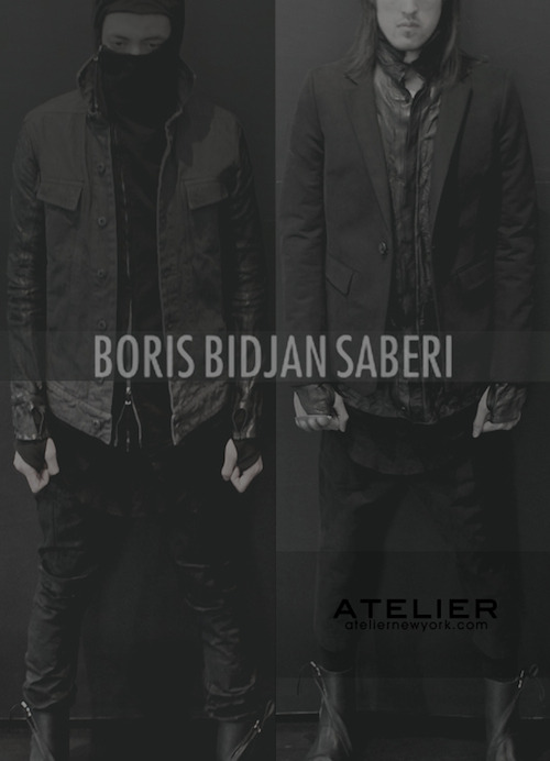 BORIS BIDJAN SABERI Spring/Summer 2013 Collection