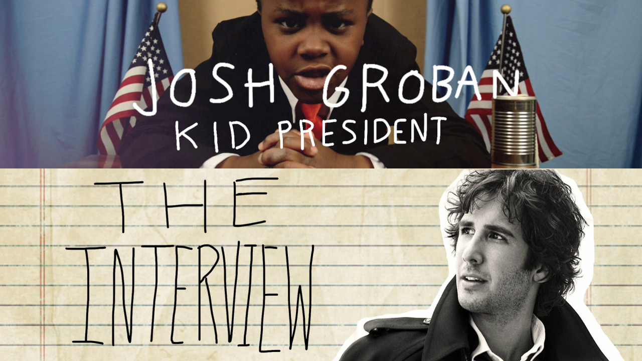 Josh Groban tweeted to Kid President. Kid President wrote him back. Groban never replied.  KP enlisted the help of his viewing audience to #bugjoshgroban. Tomorrow see the episode made possible by you, the people. ALL NEW KID PRESIDENT TOMORROW! http://kidpresident.com