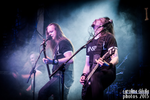 soundsontheroad:  Insomnium, live in Madrid (Spain) Sala Arena, 04-05-2013 http://www.flickr.com/photos/carolinadavila/