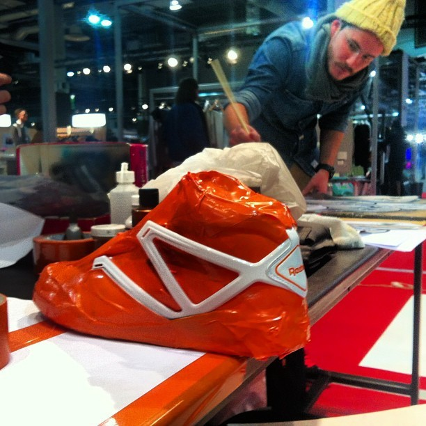 #rudnes#custom #reebok #whosnext #wsnopenlive#paris#2013#sneakers