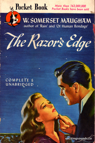 The Razor's Edge by W. Somerset Maugham (Pocket Books 418, 1946)