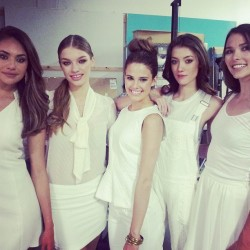 Yesterdays Models for #jewomenspromo  @jemodel