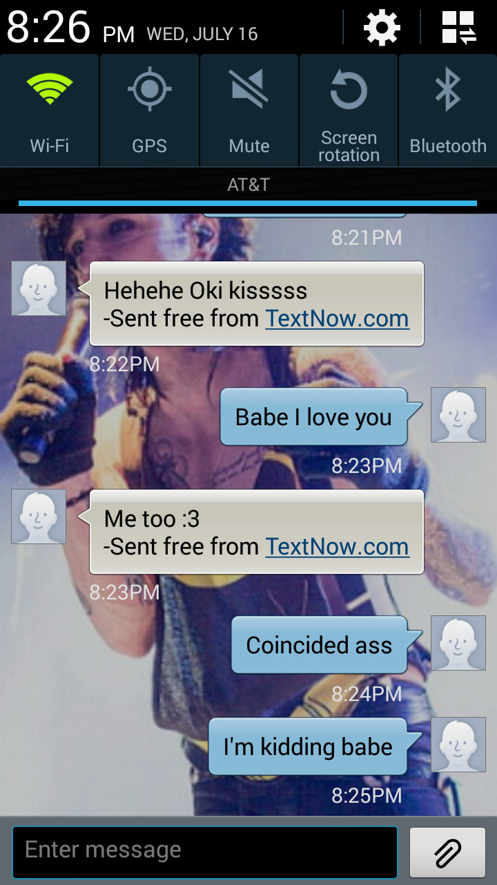 This is me and my boyfriends relationship god hes to adorable  Still no reply