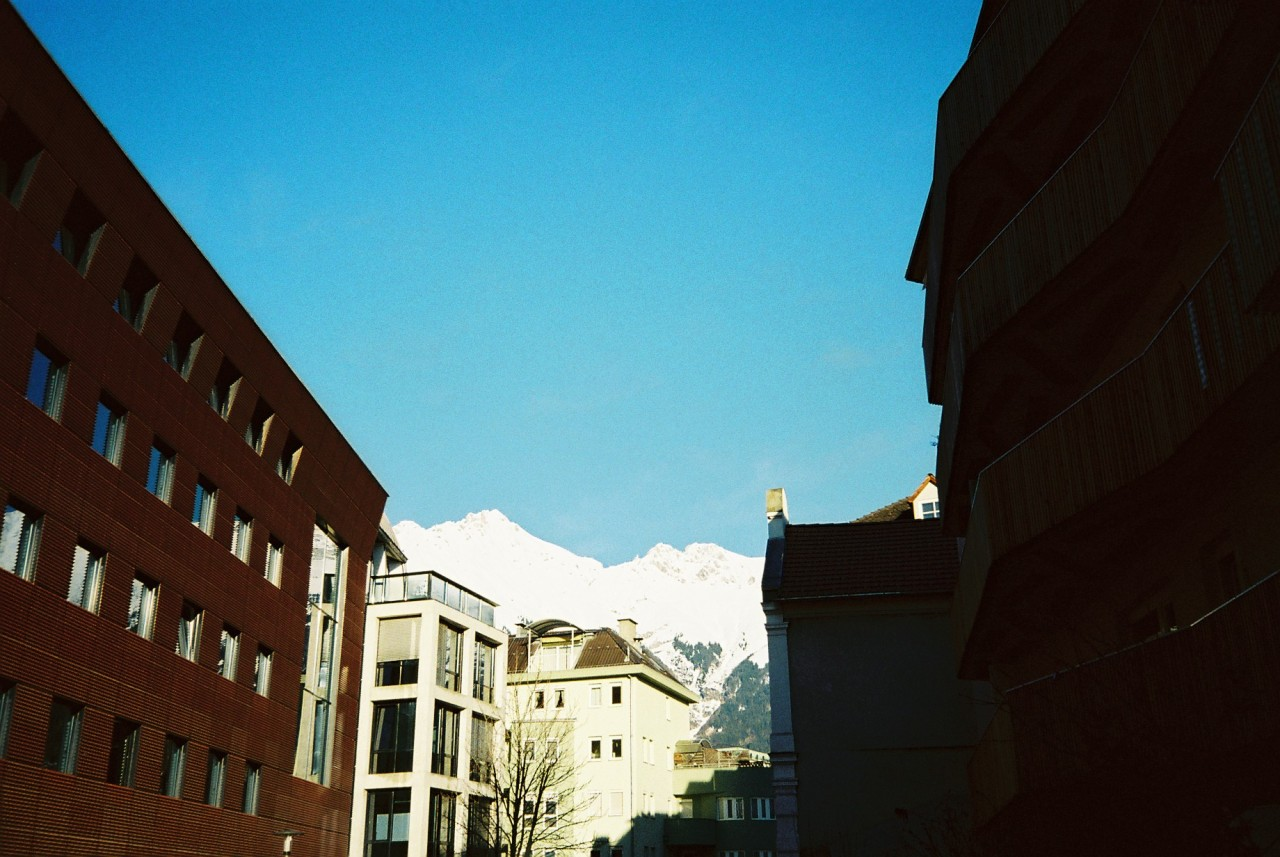 Mountain Morning, Innsbruck Feb. 2013