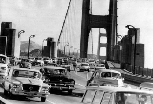 Golden Gate Commuter Traffic - San Francisco