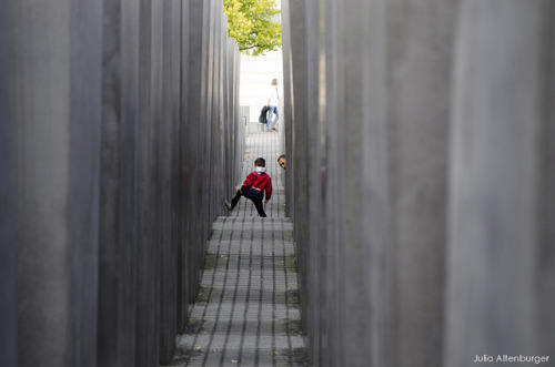 Holocaustmahnmal - little boy on Flickr.These are some photos from my three-day trip to Berlin to see Lights for the first time. This one was taken at the Holocaustmahnmal (Holocaust memorial).Check out my concert review and more photos! Link me:twitter | tumblr | YouTube