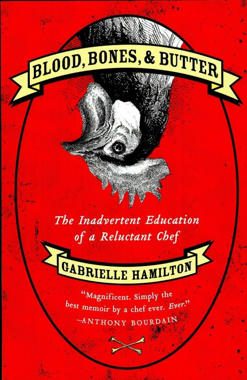 Book #15 — Blood, Bones, & Butter by Gabrielle Hamilton I found her kind of unpleasant and the book poorly-structured. I wanted more about the opening of her delicious East Village restaurant Prune and less about shelling beans in Italy. There is a repetitive above-it-all/my food is the only kind of real food/food fads are stupid self-aggrandizing that I find annoying in chef culture that exists as a repudiation of chef culture that is of itself chef culture. Her omelettes are great, though.