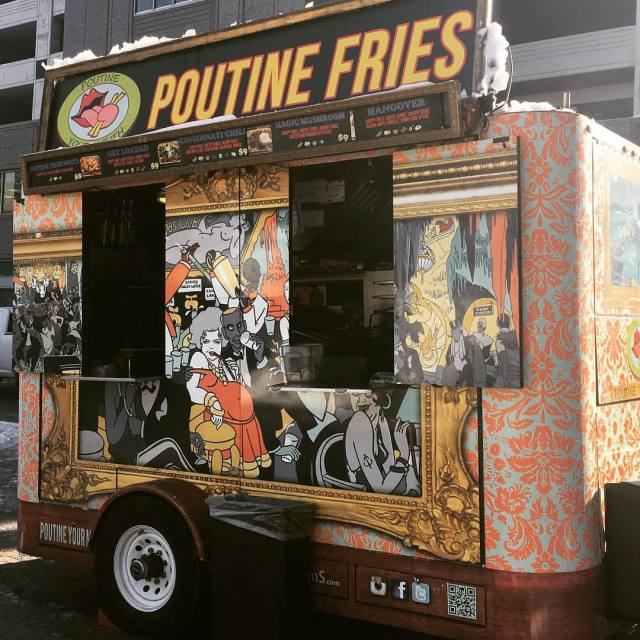 Get yourselves on down for some Poutine today Friday 1/6. It's dreadfully ...
