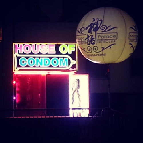 No STDs here. :-) (at House of Condom)