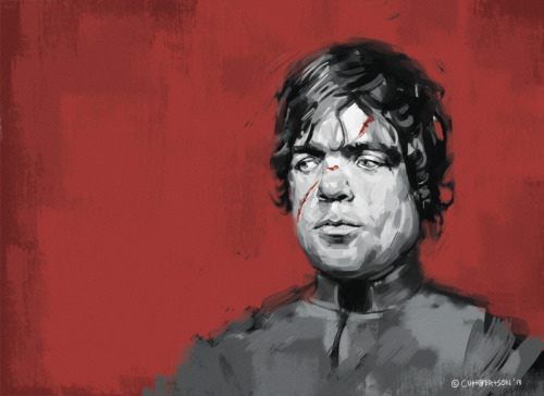 Peter Dinklage / Tyrion Lannister  A quick Game of Thrones fan art piece - there is room for a caption/quote but I couldn't decide on one - any ideas?
