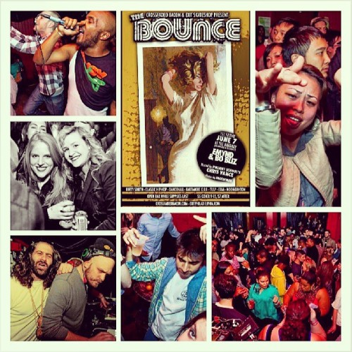 #ThisIsTheBounce we back!! Live from The Barbary | 9pm | 6/7/13 @Emynd @bo_bliz @shotsfired215 and yours truly!! (at The Barbary)