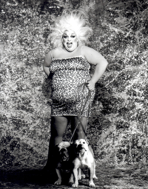 Divine by Greg Gorman, 1984