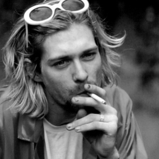 "fortunesound:  Kurt Donald Cobain (February 20, 1967 – April 5, 1994) Tonight we celebrate the life of Kurt Cobain and Nirvana then stay after for #happyendingfridays Noisey.com, @BeatRouteBC Magazine, @Cherchez La Femme and Spectacle Theatre (NYC) present… NIRVANA NIGHT! FILM SCREENING + COVERS! 6PM - FILM SCREENING - ""I Hate Myself & I Want To Die"" (documentary - 40 Mins) followed by a Q&A w/ director and filmmaker Benjamin Shapiro (editor-in-chief of Noisey.com / Vice) THEN/////8PM-11PM ∆ No Sinner ∆∆ BESTiE ∆∆∆ The Belle Game ∆∆∆∆ @DasHumans ∆∆∆∆∆ War Baby ∆∆∆∆∆∆ Zachary Gray (The Zolas) ∆∆∆∆∆∆∆ DJ @JustinGradin & the Grunge City All Stars Your favourite local bands take the stage to rip through face-melting Nirvana covers.. #nirvana #kurtcobain (at fortunesoundclub.com)"