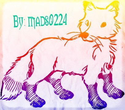Simple fox via BeFunky http://www.befunky.com