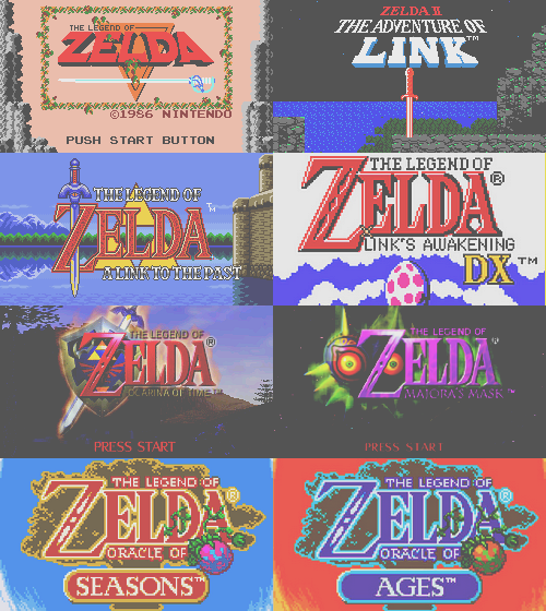 The Legend of Zelda | 1986 ~ 2011.