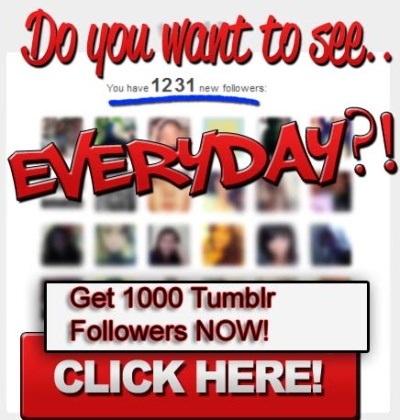 followtrain20:  Click Here To Get Your 1000 Tumblr Followers Now