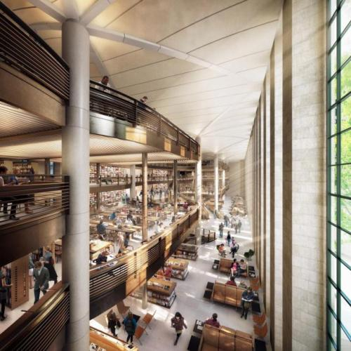"You all know how excited we are about NYPL's Central Library Plan and the renderings we released last week. Yesterday, the Daily News shared its opinion - and it's a winner:  ""A great new chapterThe planned overhaul of the New York Public Library's iconic midtown building is a winner"" But that's not all! Take a look at their op-ed and read what else they had to say."