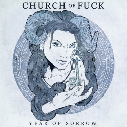 beyondhelp:  I drew this up for Church Of Fucks compilation 'Year Of Sorrow'. Click the image to be linked to the labels facebook where you'll find more information.   Please reblog and spread the word.