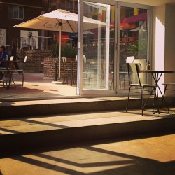 The #cafe of #shadows in #braamfontein #johannesburg #joburg #jozi  (at Vélo)