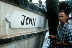 "I always loved how he named his boat ""Jenny""."