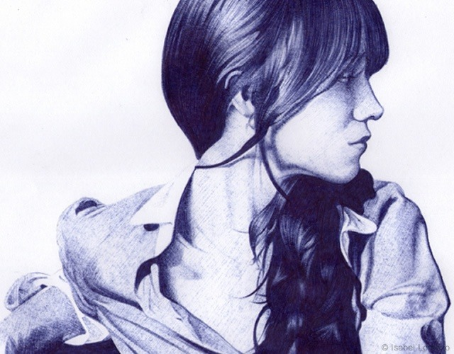 Isabel Lorenzo | ballpoint pen on paper [x]