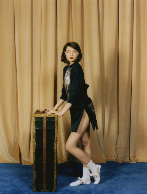 surrealdiamonds:  Yumi Lambert for Self Service Magazine (SS 2013) Ph. Venetia Scott