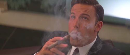 celebritysmokingcigar:Ben Affleck inPaycheck (2005)
