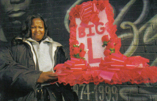 real-hip-hop-affiliated:  Big L's mother Gilda 'Pinky' Terry
