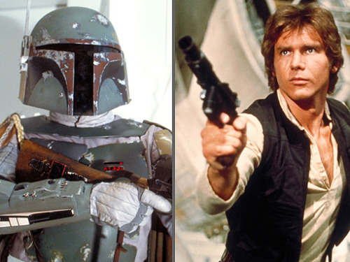 Exclusive! Disney told us all about two Star Wars spin-offs it has in development — a saga about young Han Solo that focuses on the wisecracking smuggler's origin story, and a bounty hunter adventure featuring Boba Fett at the center of a rogue's gallery of galactic scum.