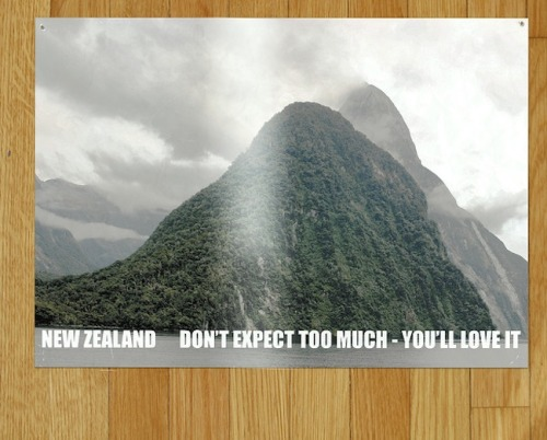 (via All of Murray's New Zealand Tourism posters from Flight of the Conchords)