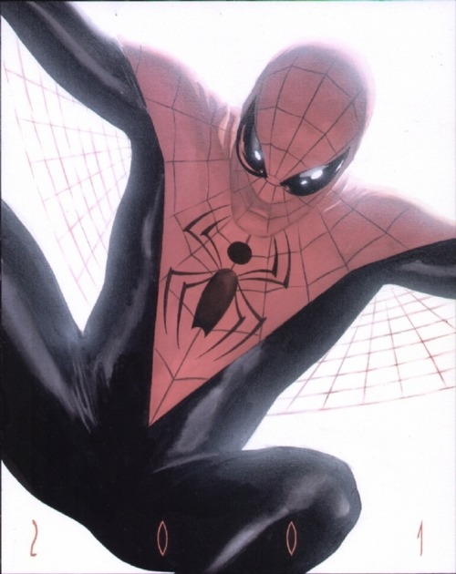 redcell6:  Spider-Man by Alex Ross